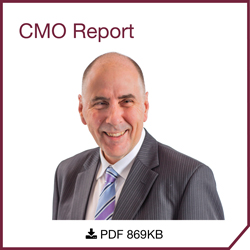 Professor Chris Baggoley, Chief Medical Officer, Deputy Secretary - CMO Report