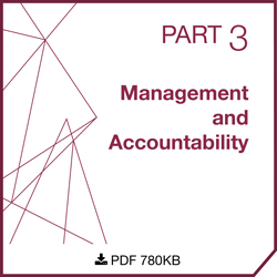 Part 3 - Management and Accountability